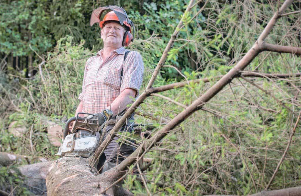 Klein- und Privatwaldbesitzer