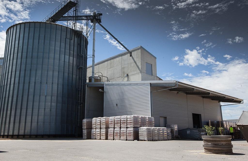 Pelletwerk Dorr-Biomassehof in Asch bei Landsberg